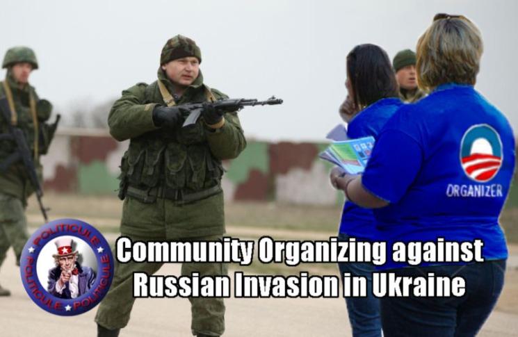 Community Organizing Against Invasion in UKraine