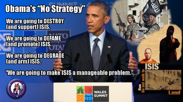 Obama'sNoStrategy